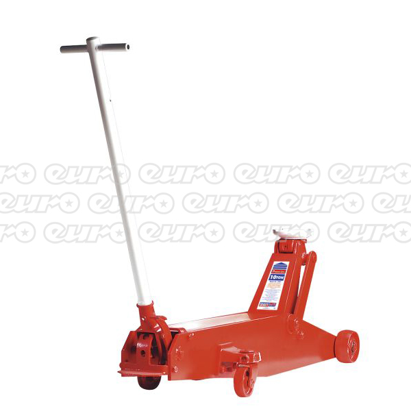 10QJ Trolley Jack Premier 10ton Long Reach