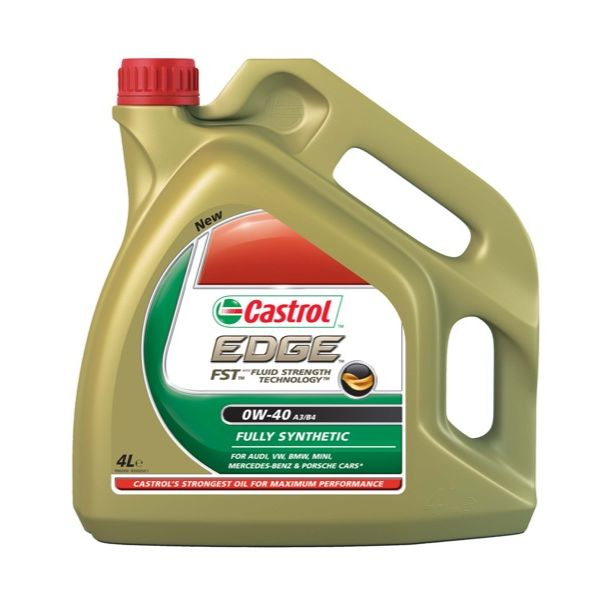 Car Parts Edge Sport Fully Synthetic 0W40 Engine Oil (4 Litre)