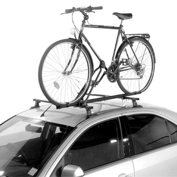 Universal Roof mounted bicycle carrier (lockable)