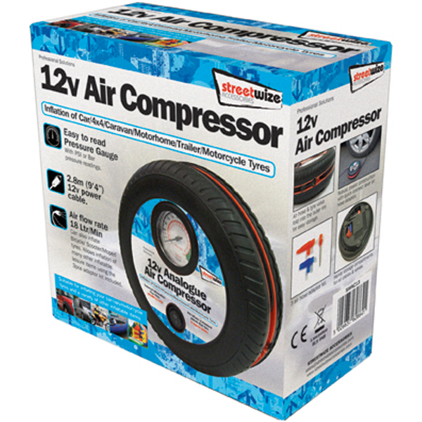 Tyre Shaped Air Compressor