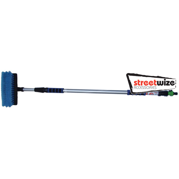 1.8m De luxe Telescopic Brush with Rubber Squeegee