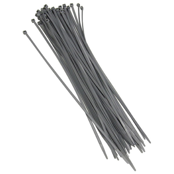 Grey Cable Ties 100 Ties per bag Length 360mm x Width 4.7mm