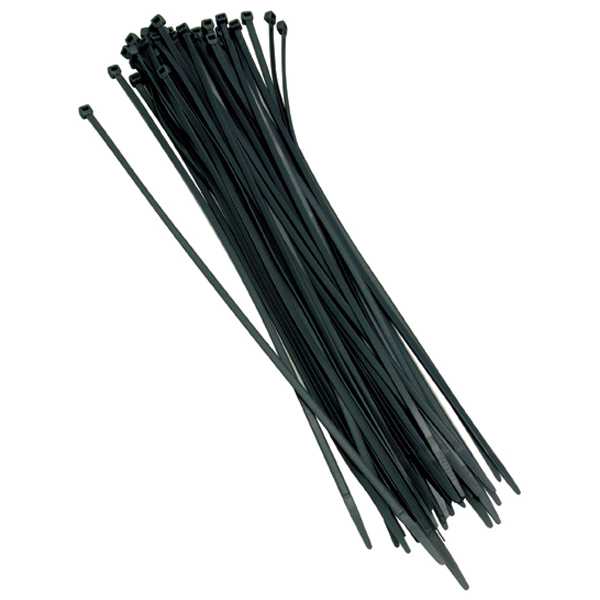 Black Cable Ties 100 Ties per bag Length 360mm x Width 4.7mm