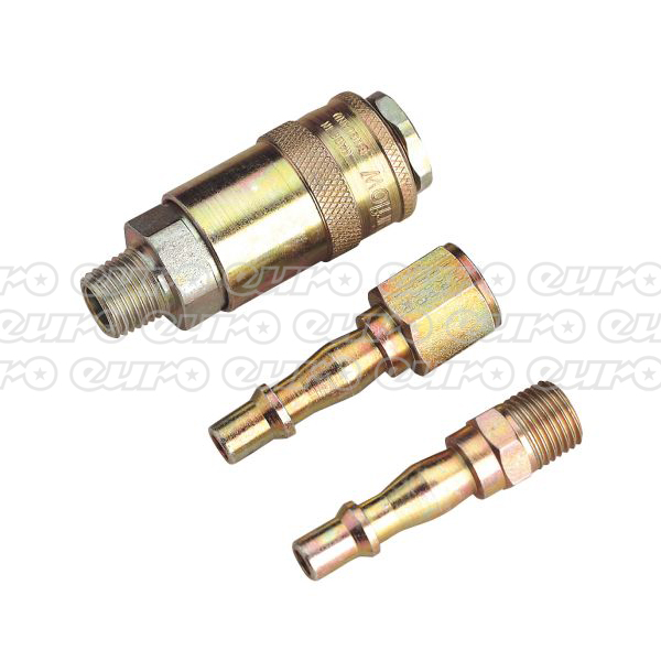 "Image of AC60 Air Tool Coupling Kit 1/4""BSP"