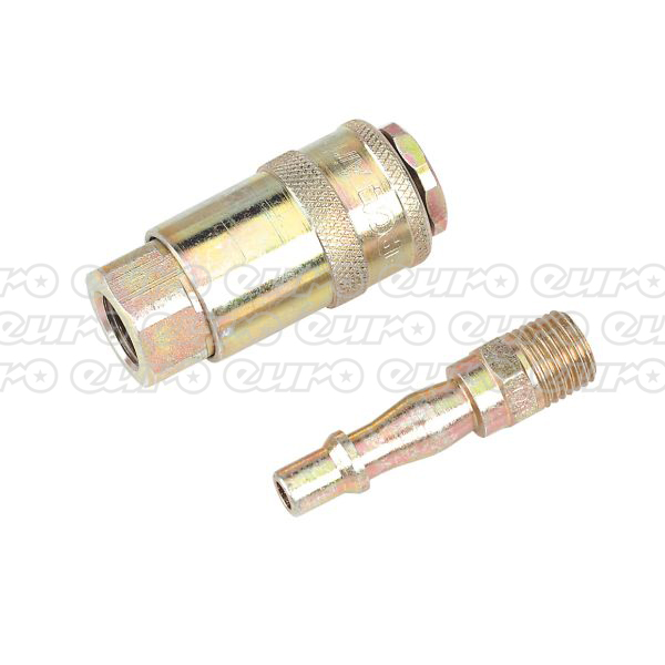 "Image of AC61 Air Tool Coupling Kit 1/4""BSP"
