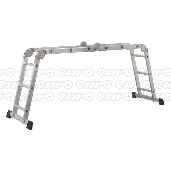 AFPL1 Aluminium Folding Platform Ladder 4Way EN131