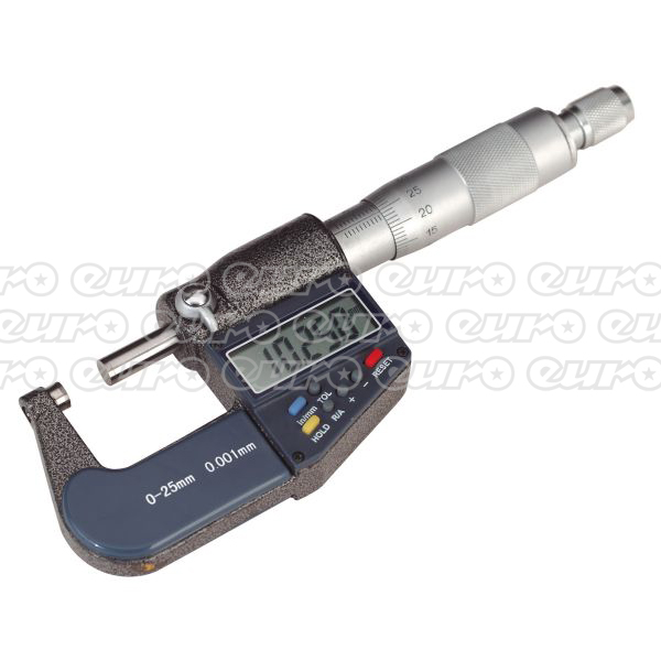 AK9635D Digital External Micrometer 025mm01