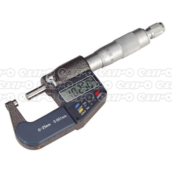 AK9635D Digital External Micrometer 025mm01