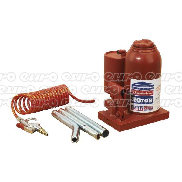 AM20 Bottle Jack Premier 20ton ManualAir Hydraulic