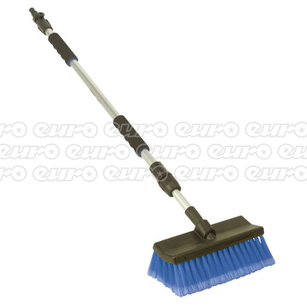 CC50 Large Angled FloThru Brush with 1.7mtr Telescopic Handle
