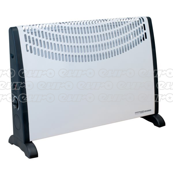 CD2005 Convector Heater 2000W 3 Heat Settings Thermostat