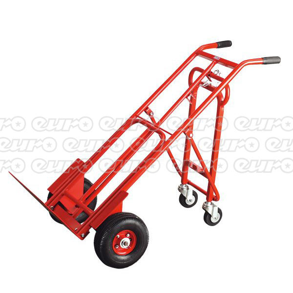 CST989 Sack Truck 3in1 with 250 x 90mm Pneumatic Tyre 250kg Capacity