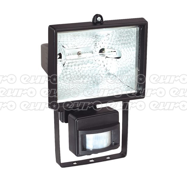 MD520C TungstenHalogen Floodlight Wall Bracket&PIR Sensor 500W230V