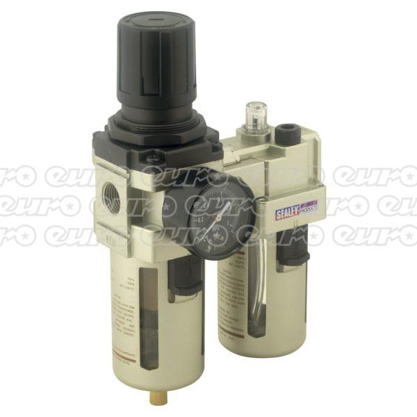 SA206 Air FilterRegulatorLubricator Max Air Flow 105cfm