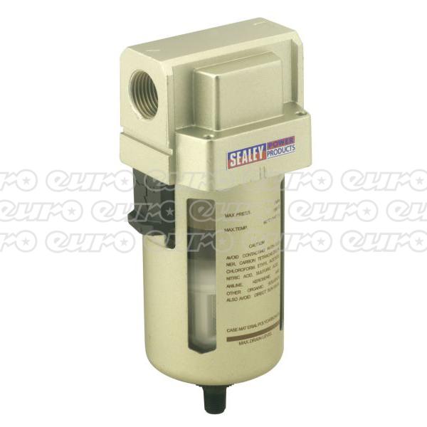 SA206FAD Air Filter Auto Drain Max Air Flow 140cfm