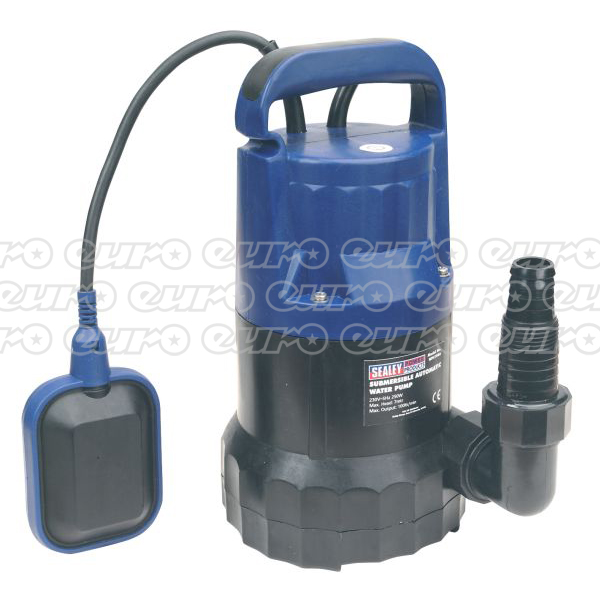 WPC100A Submersible Water Pump Automatic 100ltrmin 230V