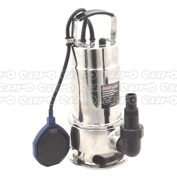 WPS225A Submersible Stainless Water Pump Automatic 225ltrmin 230V
