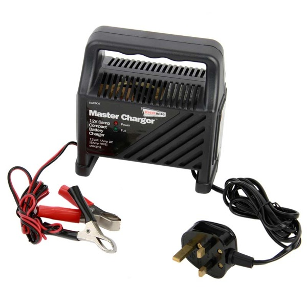 Streetwize 12v 6 amp Battery Charger